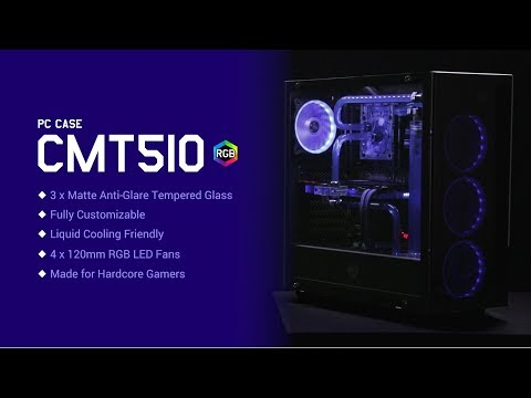 FSP CMT 510 Gaming Chassis