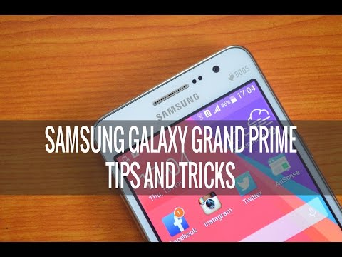 Samsung Galaxy Grand Prime Tips and Tricks