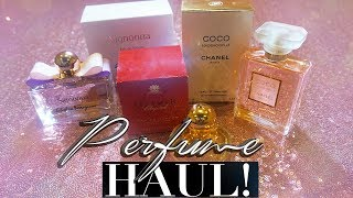 PERFUME HAUL & MUST HAVE FRAGRANCES! CHANEL , CHOPARD & MORE!
