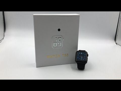 Smart Watch T55 Dual Belts(Pack Of 2 Set Of Strap/Belts)