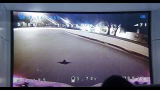 EMAX TINYHAWK 2 DRONE - #3 - !! CRASH on roof !! flying at night