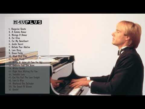 Richard Clayderman Greatest Hits -Best Songs Of Richard Clayderman -Richard Clayderman Playlist