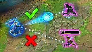 PREDICTING YOUR EVERY MOVE - 200 IQ Predictions Montage - League of Legends