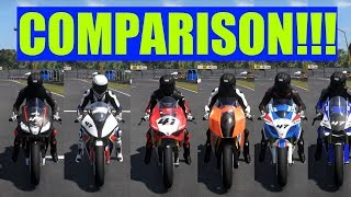 Racing Superbike Sound Comparison | Ride 2
