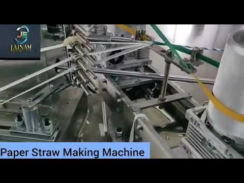 Automatic Paper Straw Making Machine