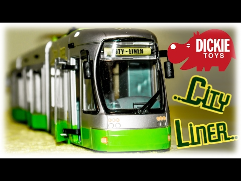Dickie Toys Tram City Liner