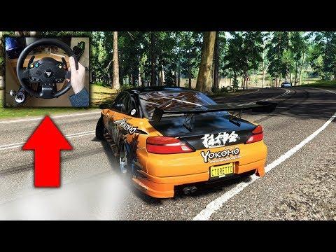 Forza Horizon 4 Drifting the Forest Road Silvia S15 Best Drift Build  (Thrustmaster Steering Wheel) - CToretto
