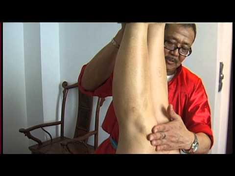 Gimnastyka i ćwiczenia terapii i masażu z palucha koślawego