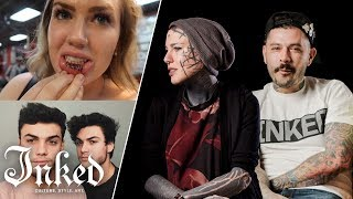 Tattoo Artists React To YouTuber's Tattoos #2 | Tattoo Artists Answer