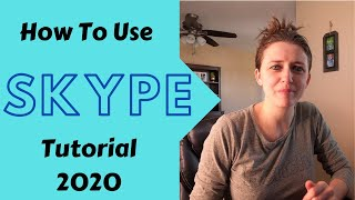How to use Skype for video conferencing, How to use [Skype] (2020)