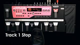 Boss RC-300 Loop Station Video