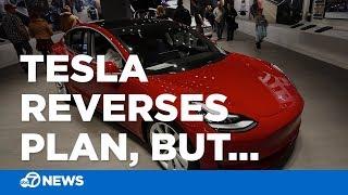 Tesla to raise prices on vehicles, reverses plan to close dealerships