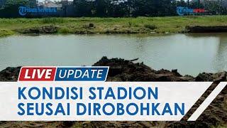 Melihat Kondisi Stadion Mattoanging Sulsel Setahun Setelah Dirobohkan, Tampak Hamparan Rumput