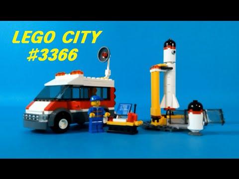 Vidéo LEGO City 3366 : L'aire de lancement