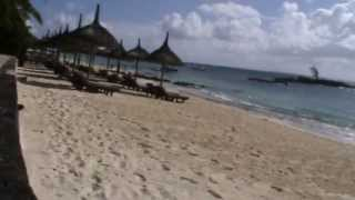 preview picture of video 'Mauritius Constance Belle Mare Plage Villas Belle Mare D`Eau Douce Osten Strand Meer Schwimmen'