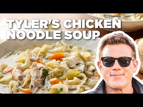 Tyler Florence Makes Chicken Noodle Soup   Food Network