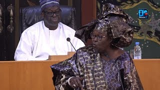 "Assemblée/Wore Sarr au Ministre Amadou Hott "" ya nara tothie rewmi"""