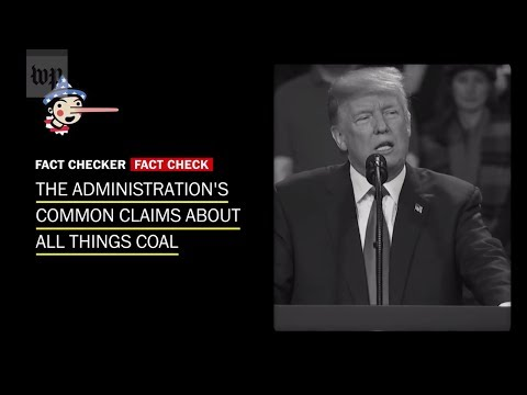 Fact-checking the Trump administration's claims on 'saving' coal