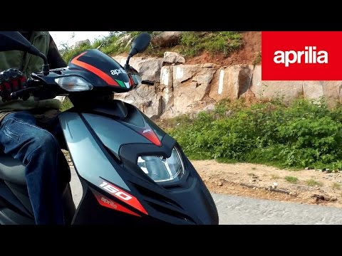 Aprilia SR150 Review | Motoplex Hyderabad