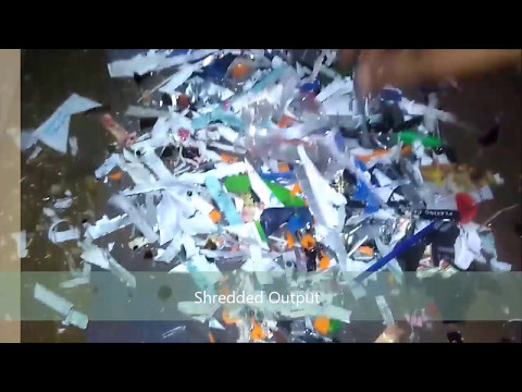 Automatic Stainless Steel Biomedical Waste Shredders