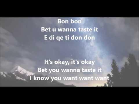 Era Istrefi - BonBon Albanian/English Lyrics