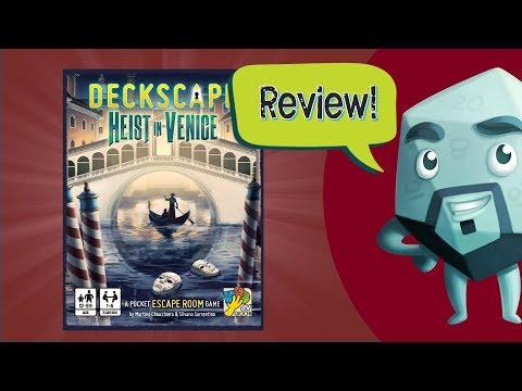 Deckscape: Heist in Venice Review - with Zee Garcia