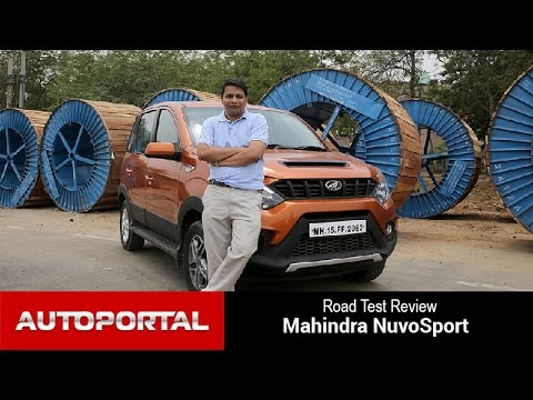 Mahindra NuvoSport Test Drive review - Autoportal