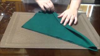10 Different Table Napkin Folds