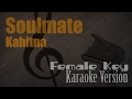 Download Video Kahitna - Soulmate (Female Key) Karaoke Version   Ayjeeme Karaoke