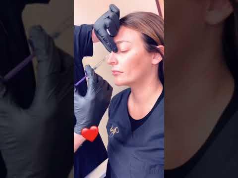 Dr. Wirth Performing Liquid Nose Job Treatment video
