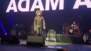 """Adam Ant """"Beat My Guest"""" & """"Vive Le Rock"""" Anthems The Singles Tour 2018- July 25, 2018(1)"""