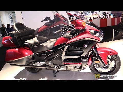 2015 Honda Goldwing GL1800 40th Anniversary Edition - Walkaround - Debut at 2014 EICMA Milan