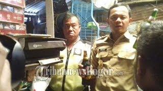 Wali Kota Bogor Gerebek Bengkel Motor Penjual Miras