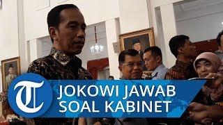 Dicecar Kasus Novel, Jokowi Pilih Jawab Soal Kabinet