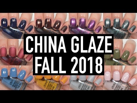China Glaze – Ready To Wear (Fall 2018) | Swatch and Review