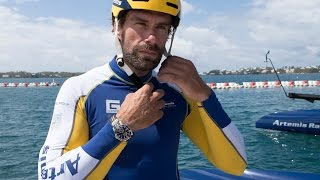 Iain Percy: Can he win the Cup multi-tasking as Team Manager and sailing team member?