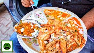 Shahi Street Food Thali Naan Dwarka | Veggie Paaji