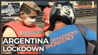 Argentina's lockdown: More people out of work and food