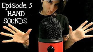 ASMR Rapid Hand Sounds For Hand Lovers   Exploring Triggers Episode 5  No Talking