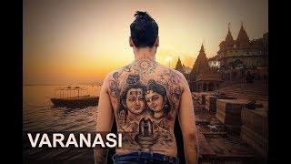 Varanasi Trip   The City Of Spirituality   Lord Shiv - Parvati Tattoo By Mahesh Chavan