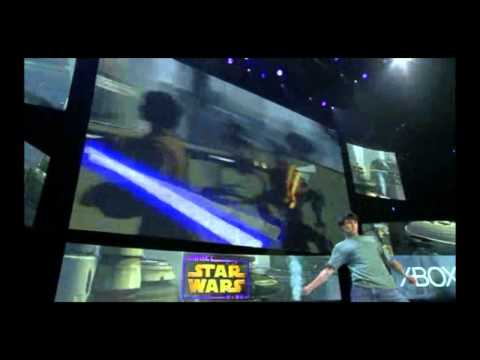 Watch A Very Intense Man Playing Star Wars Kinect