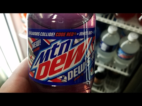 Review of Mountain Dew Dew*S*A 20 oz. Bottle