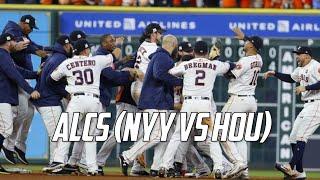 MLB | 2017 ALCS Highlights (HOU vs NYY)