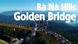 Drone  - Bana Hills Golden Bridge (Danang, Vietnam)
