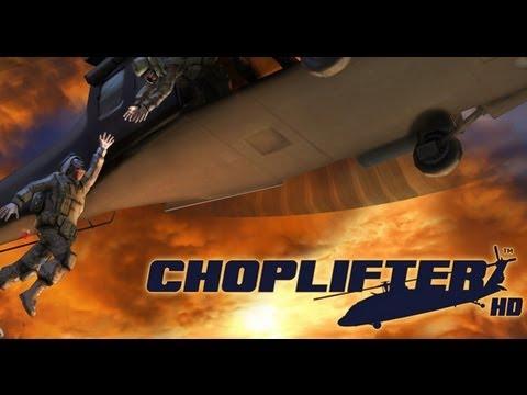 OUYA: Choplifter hd