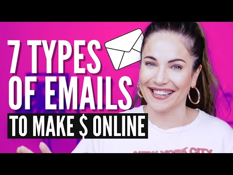 Email Marketing Tutorial: The 7 Emails You Need To Make Money Online (Tips & Examples)