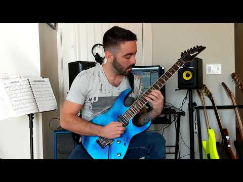My entry for a guitar solo competition