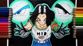Drawing Android 17 | Sacrifice