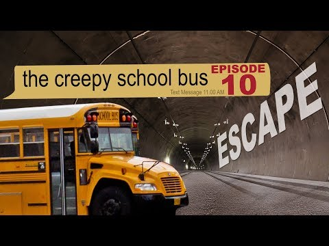 ESCAPE THE CREEPY SCHOOL BUS - text story