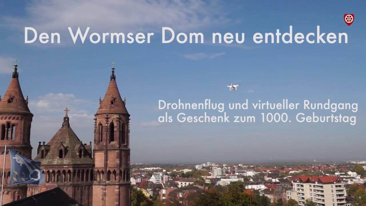 Aufgeschlossen! Virtueller 3D-Rundgang im Wormser Dom